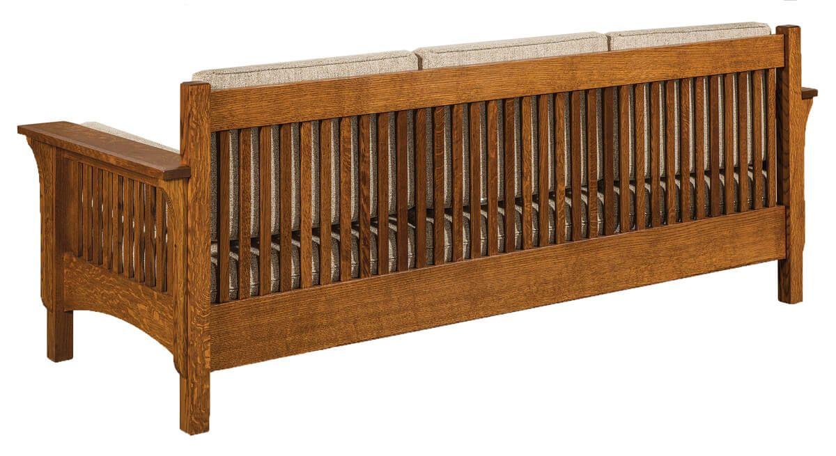 Hardwood Mission Sofa