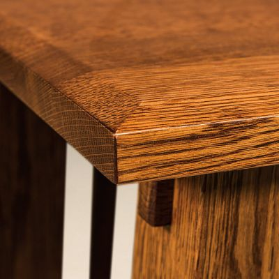 Beveled Table Edge