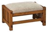 Soda Springs Footstool