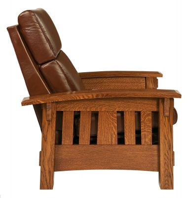 Quartersawn White Oak Mission Chair