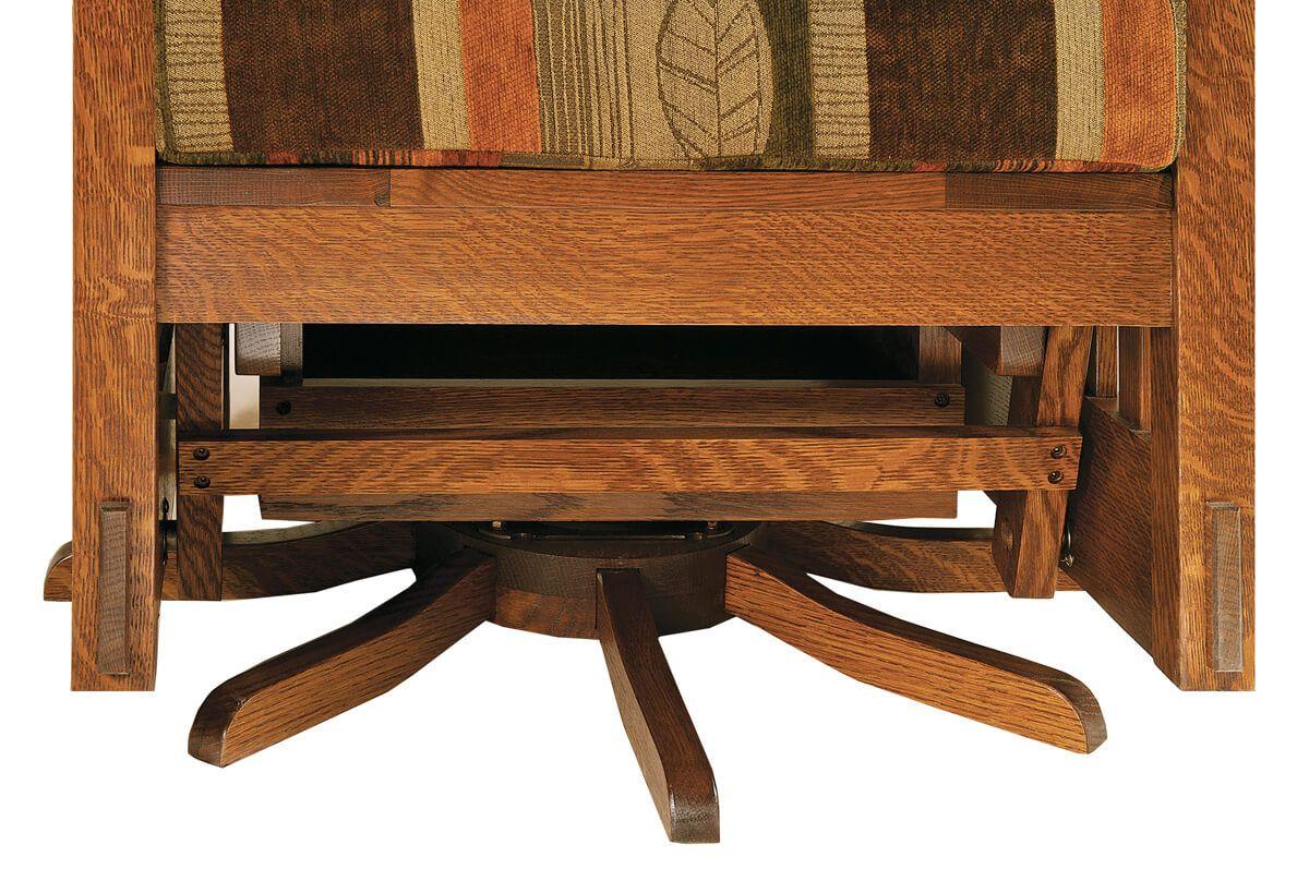 Amish Swivel Chair Base