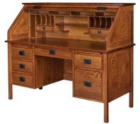 Stupendous Roll Top Desks Premium Handcrafted Amish Rolltop Desks Interior Design Ideas Clesiryabchikinfo