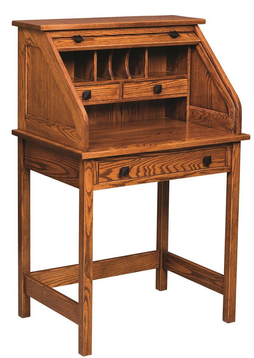 Esto Rolltop Writing Desk