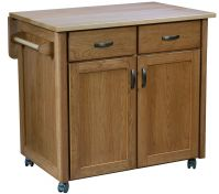 Caldwell Mobile Kitchen Island