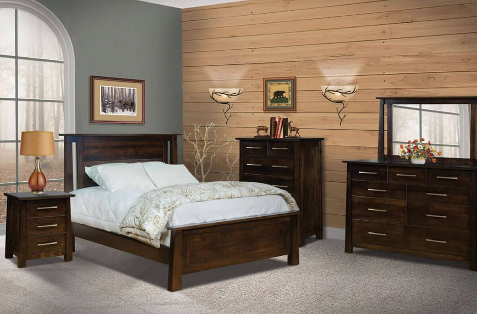 Guthrie Bedroom Set - Countryside Amish Furniture