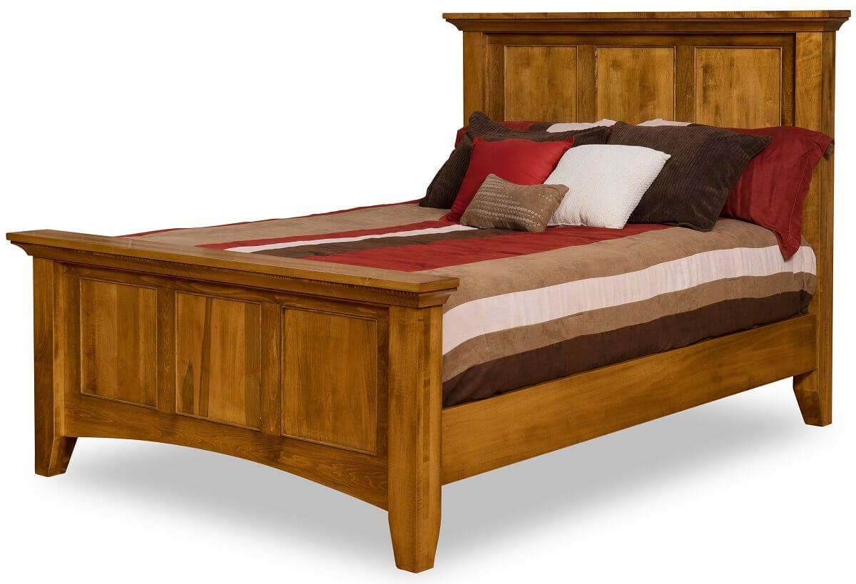 Wapello Panel Bed