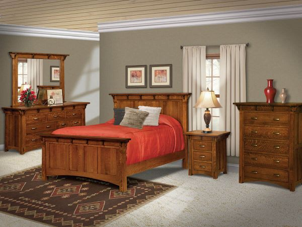 Winneshiek Bedroom Set Countryside Amish Furniture