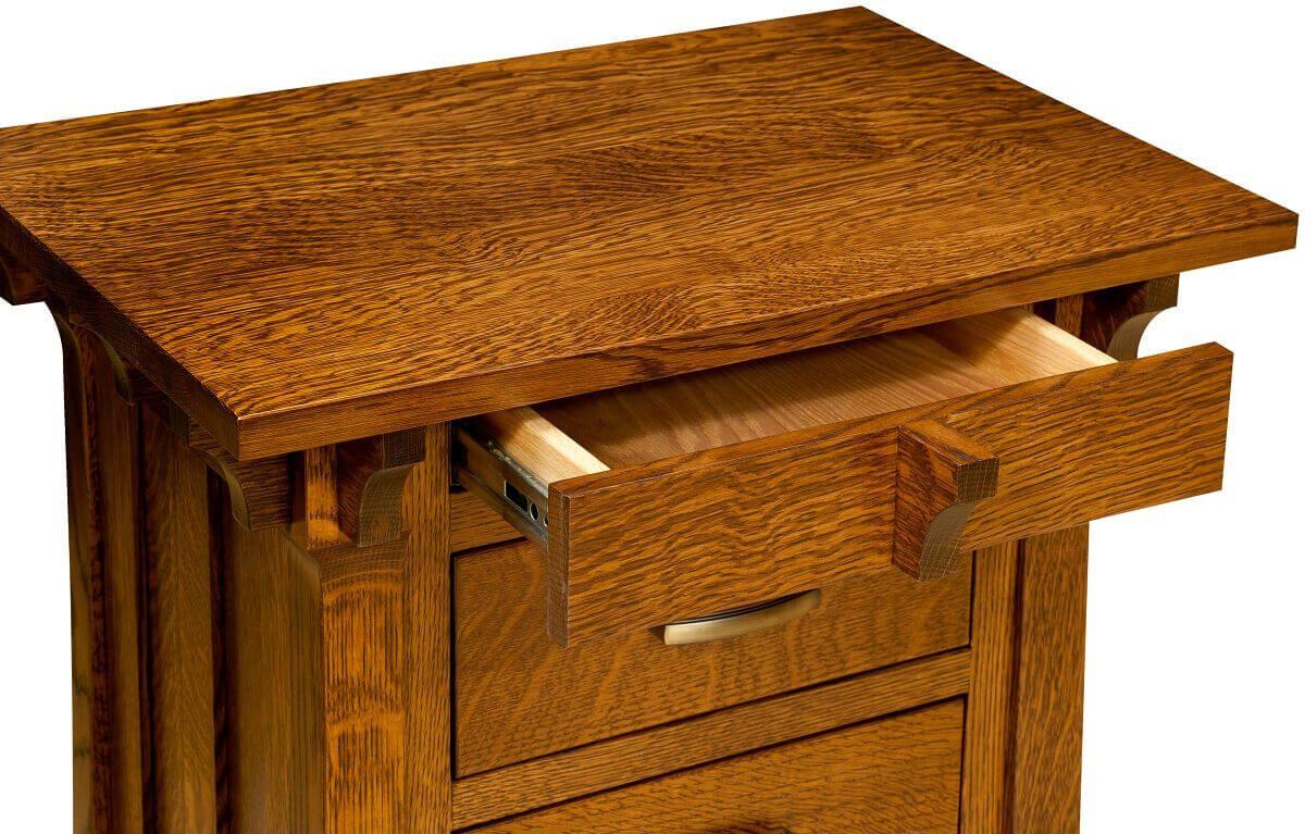 Hidden Upper Drawer