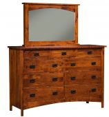 Acme Dresser With Jewelry Mirror