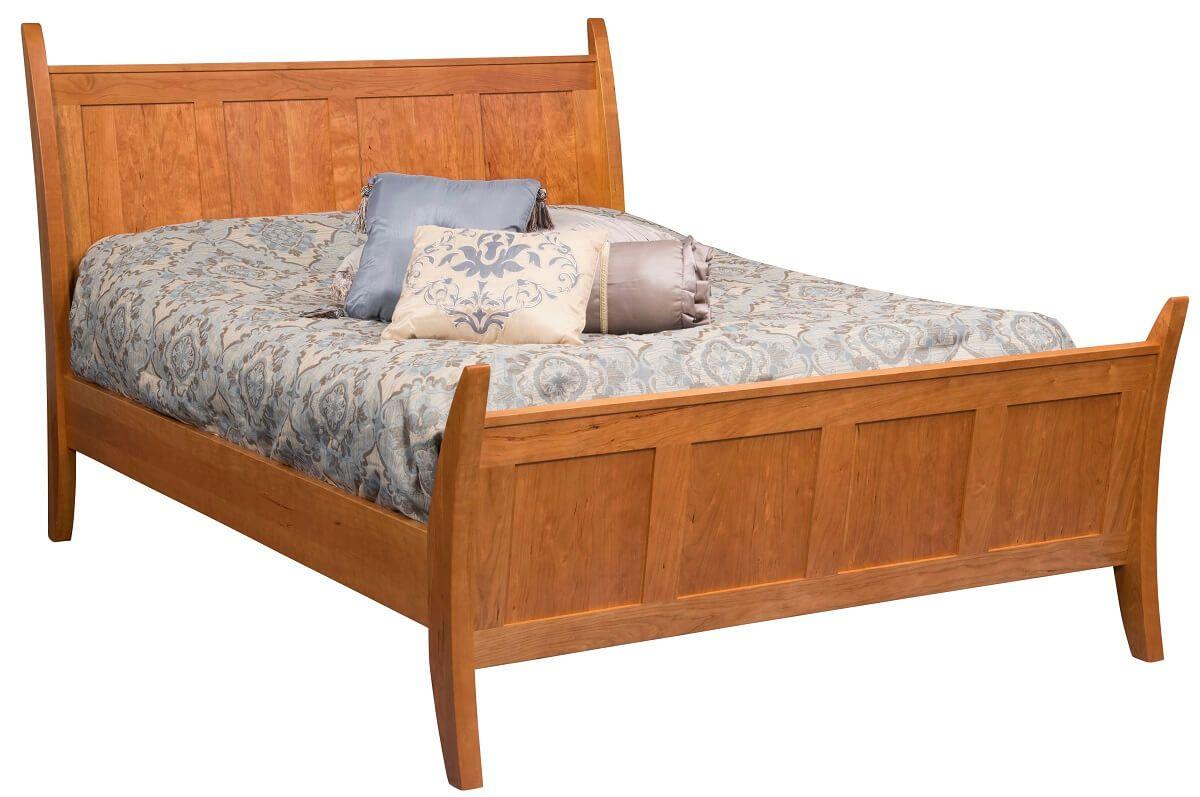Gladwin Modern Sleigh Bed