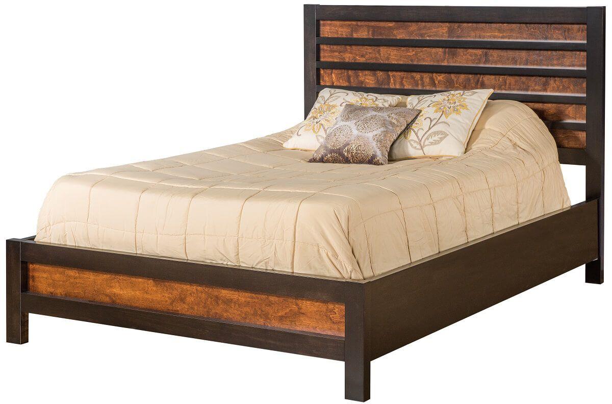 Shakopee Slatted Panel Bed