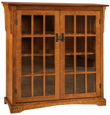 low priced fd8d0 baeb0 Agoura Hills 2-Door Bookcase - Countryside Amish Furniture