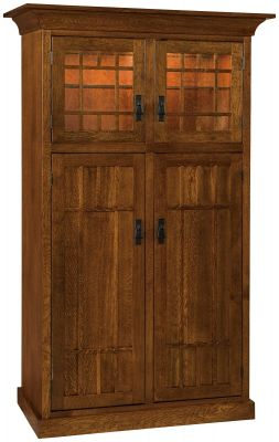 Corbin Solid Wood Kitchen Pantry Countryside Amish Furniture