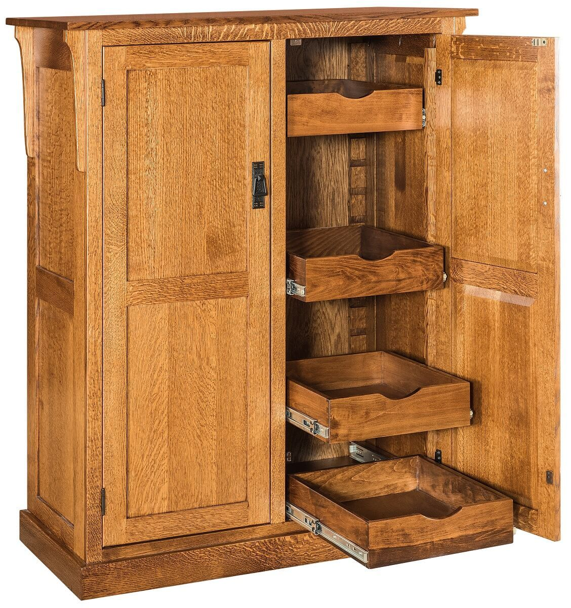 Mission Style Pantry Cabinet
