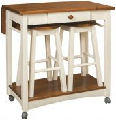 Caldwell Server with Barstools