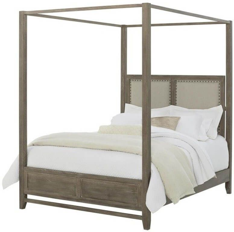 Anderson Upholstered Canopy Bed