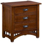 Ansonville 3-Drawer Night Table