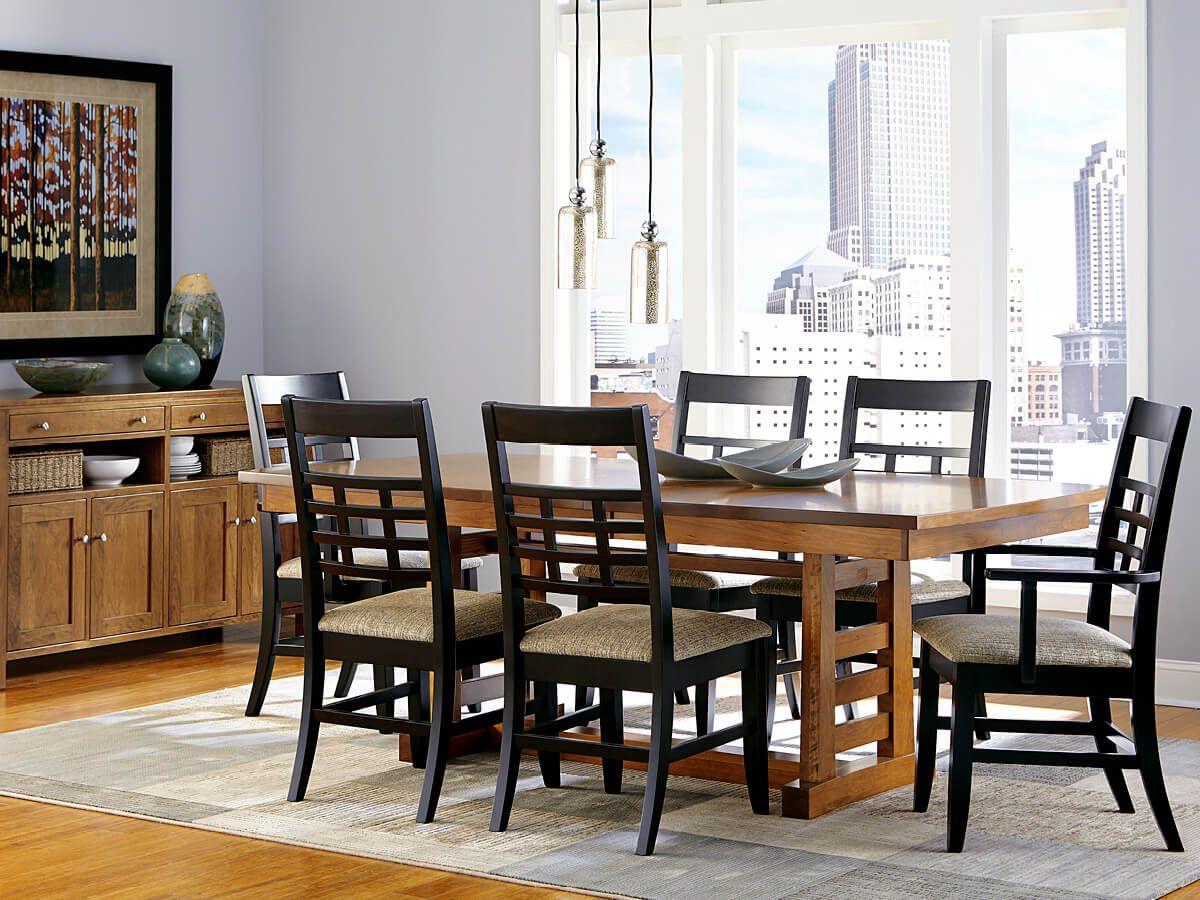Two Tone Modern Dining Furniture