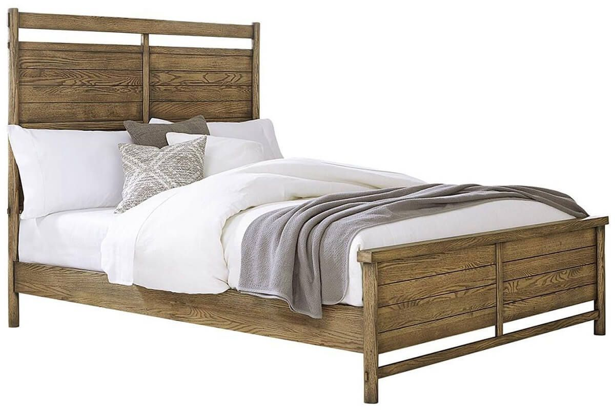 Lowndesville Panel Bed