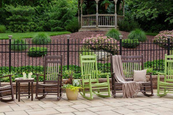Tecopa Outdoor Furniture Set Countryside Amish Furniture