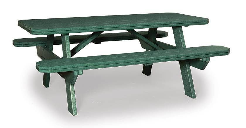 Delray Poly Picnic Table