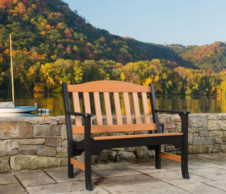Hookton Outdoor Poly Bench