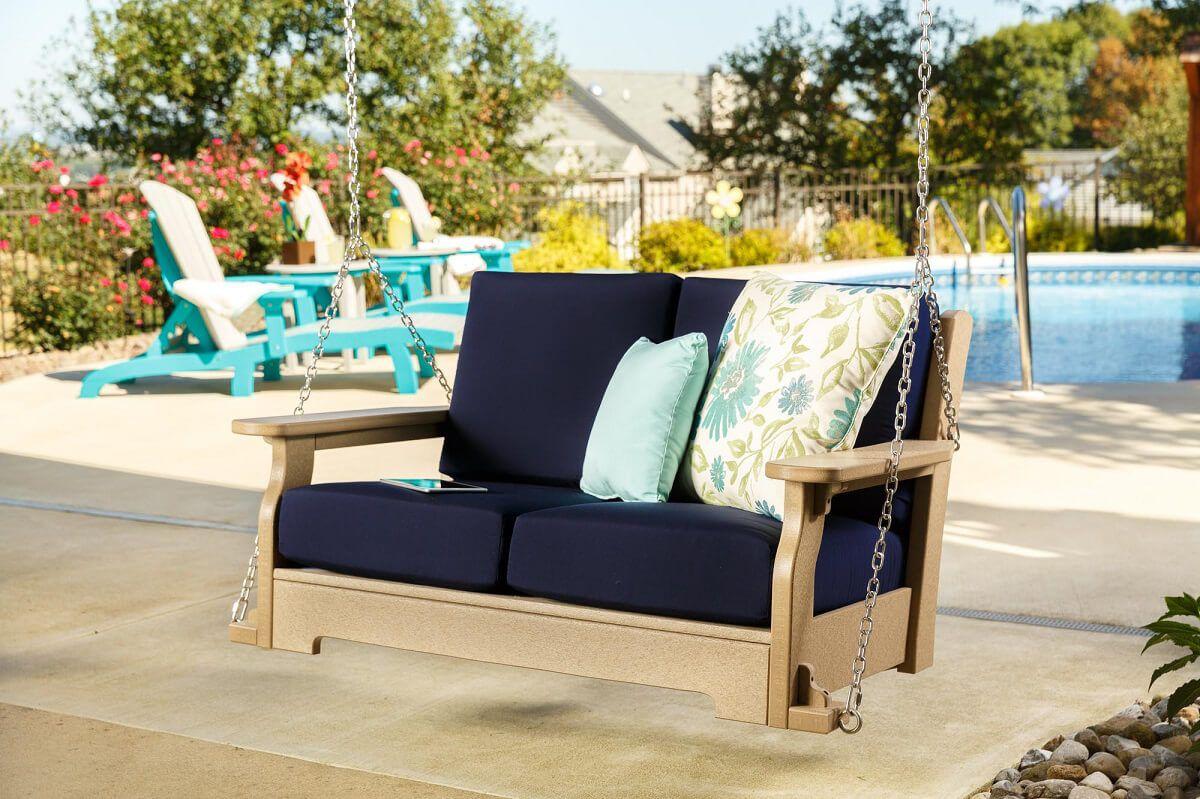 Arena Cove Porch Swing Lifestyle