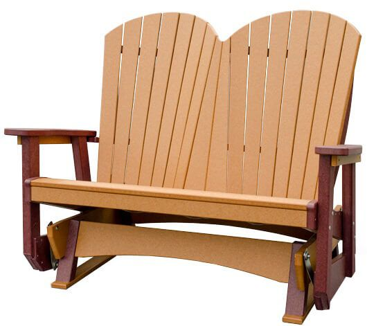 Avalon Outdoor Double Adirondack Glider