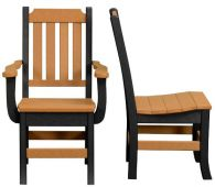 Cape Coral Patio Chair with Straight Back
