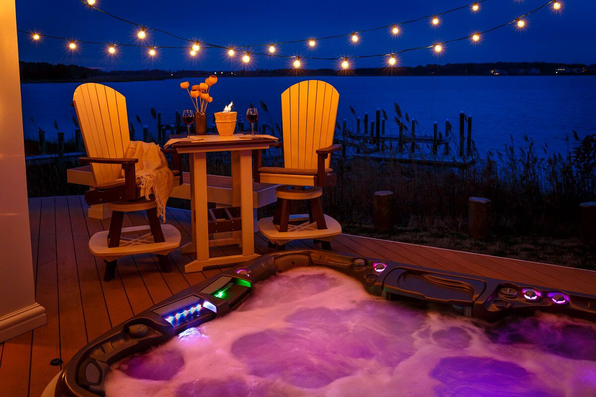 Cape Coral Outdoor Bar Table Set