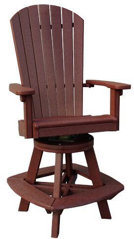 Carrabelle Outdoor Swivel Bar Chair