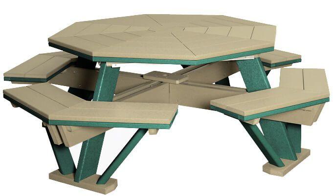 Delray Octagon Picnic Table
