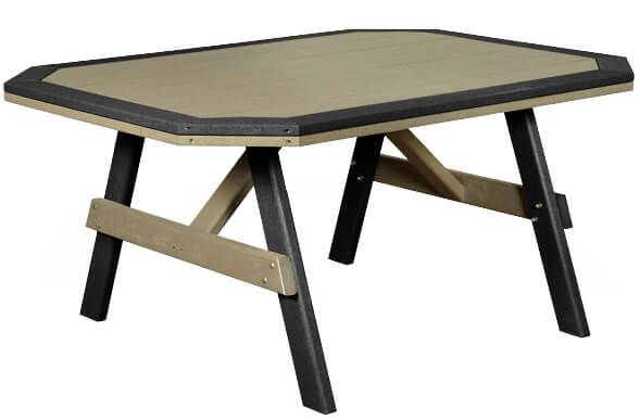 Rio Vista Outdoor Table with Border