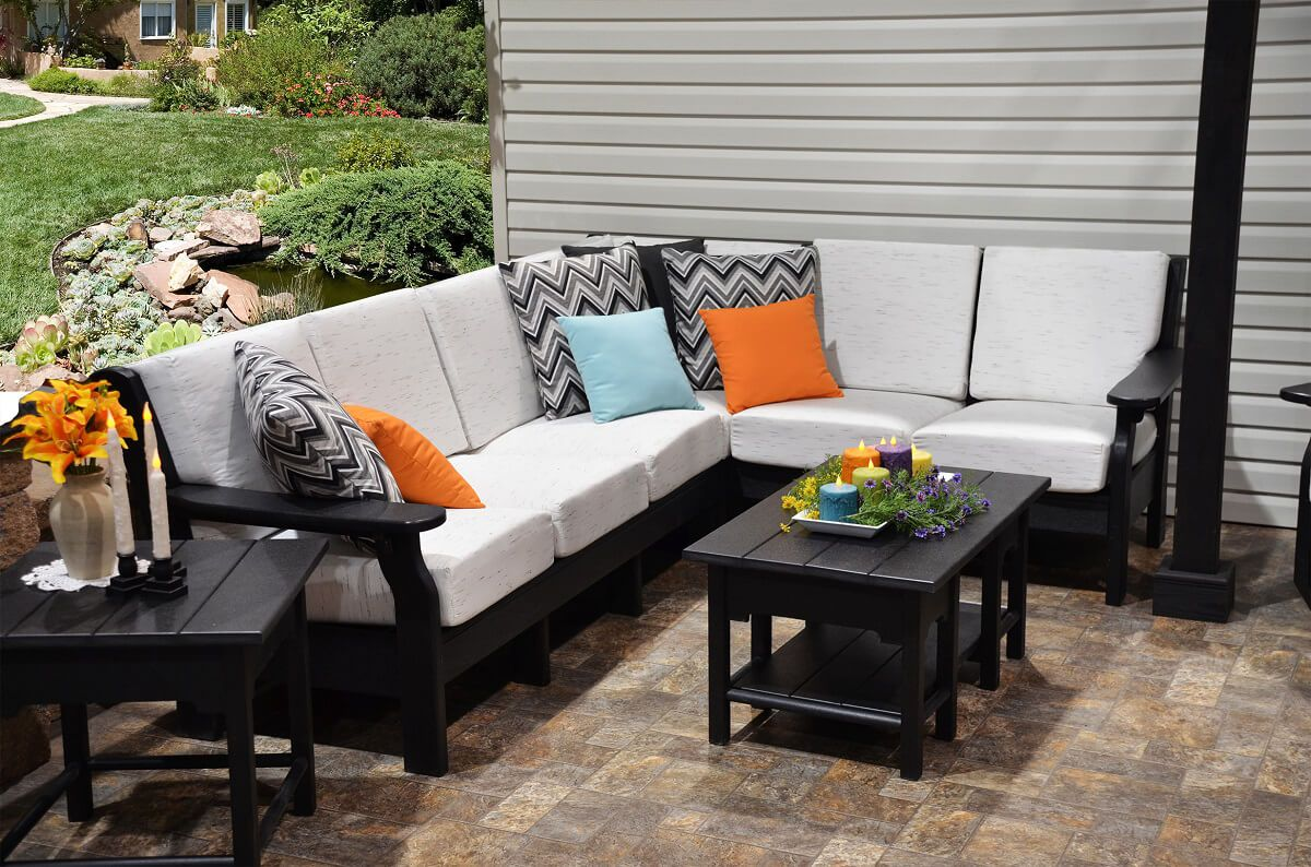 Arena Cove Outdoor Loveseat Sectional Set