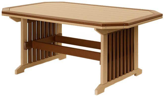 Rio Vista Outdoor Table with Border