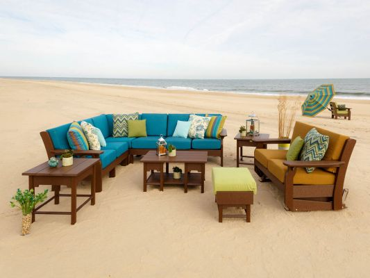 Outdoor Upholstered Seating Set