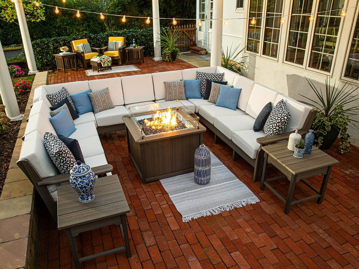 Amish Made Outdoor Sectional