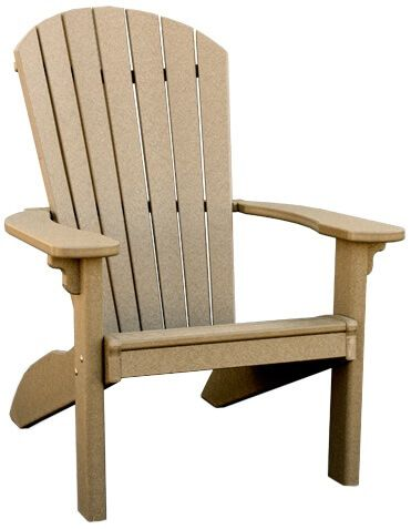 Avalon Recycled Plastic Adirondack Chair