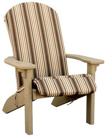 Adirondack Chair with Cushion