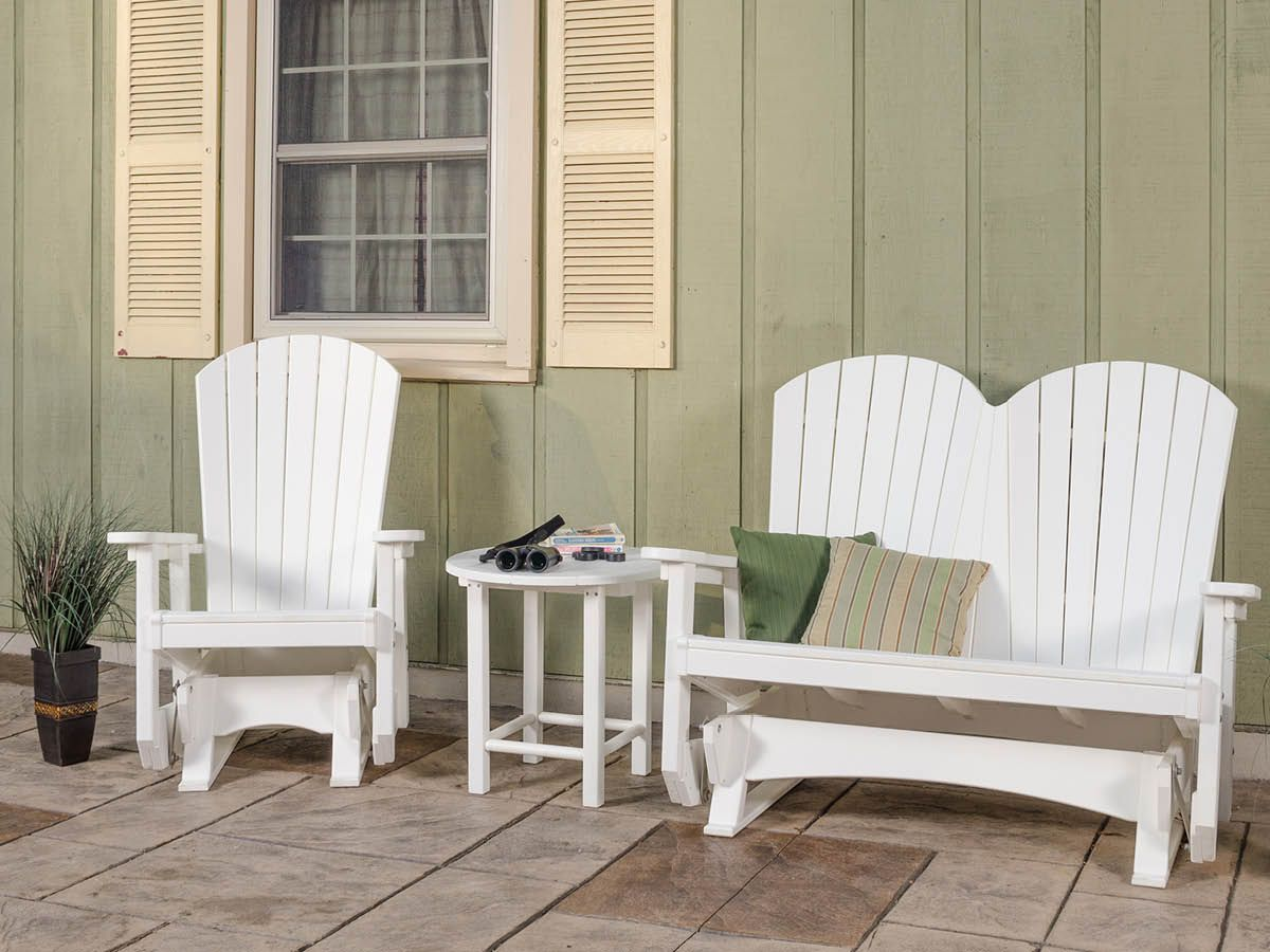 Adirondack Seating and Accent Table
