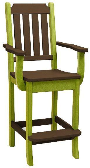 Cape Coral Outdoor Bar Arm Chair