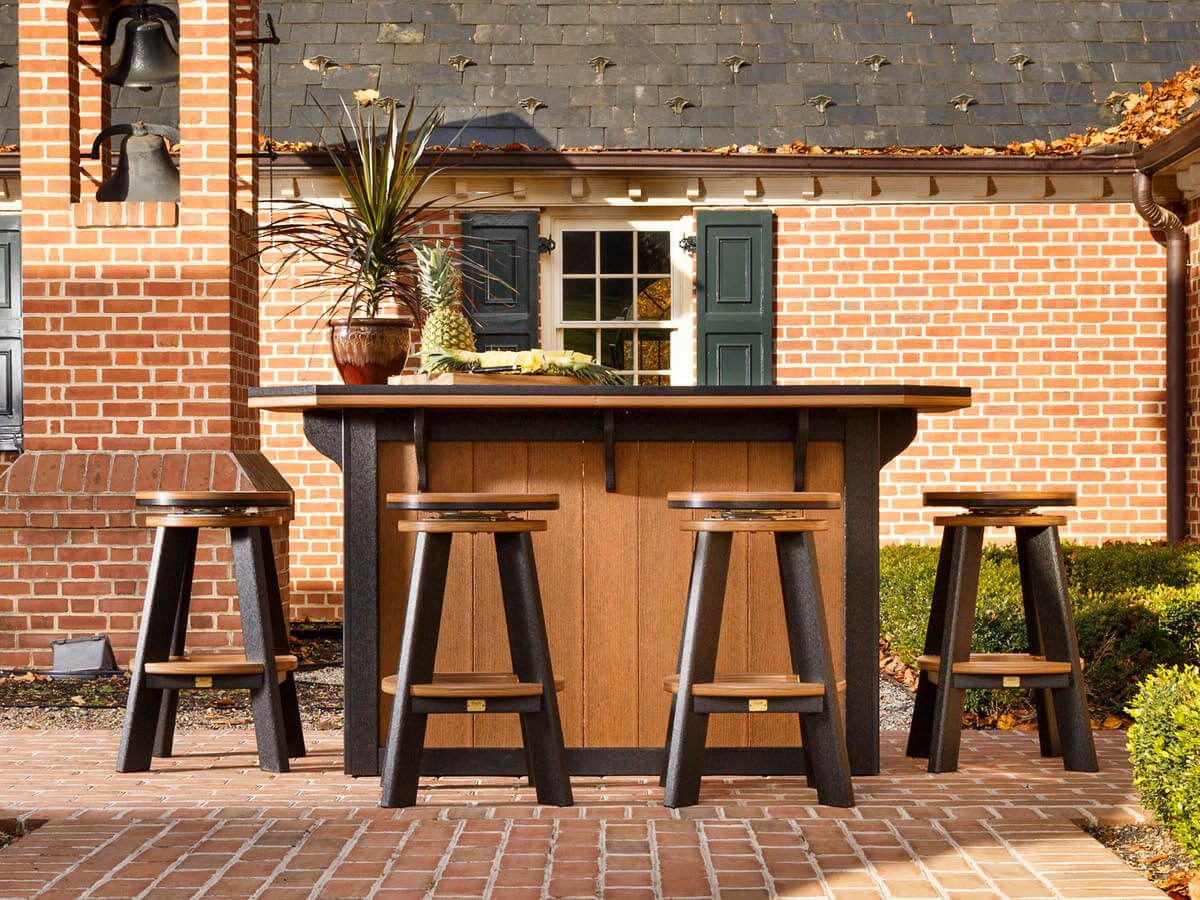 Amish Made Outdoor Bar Table