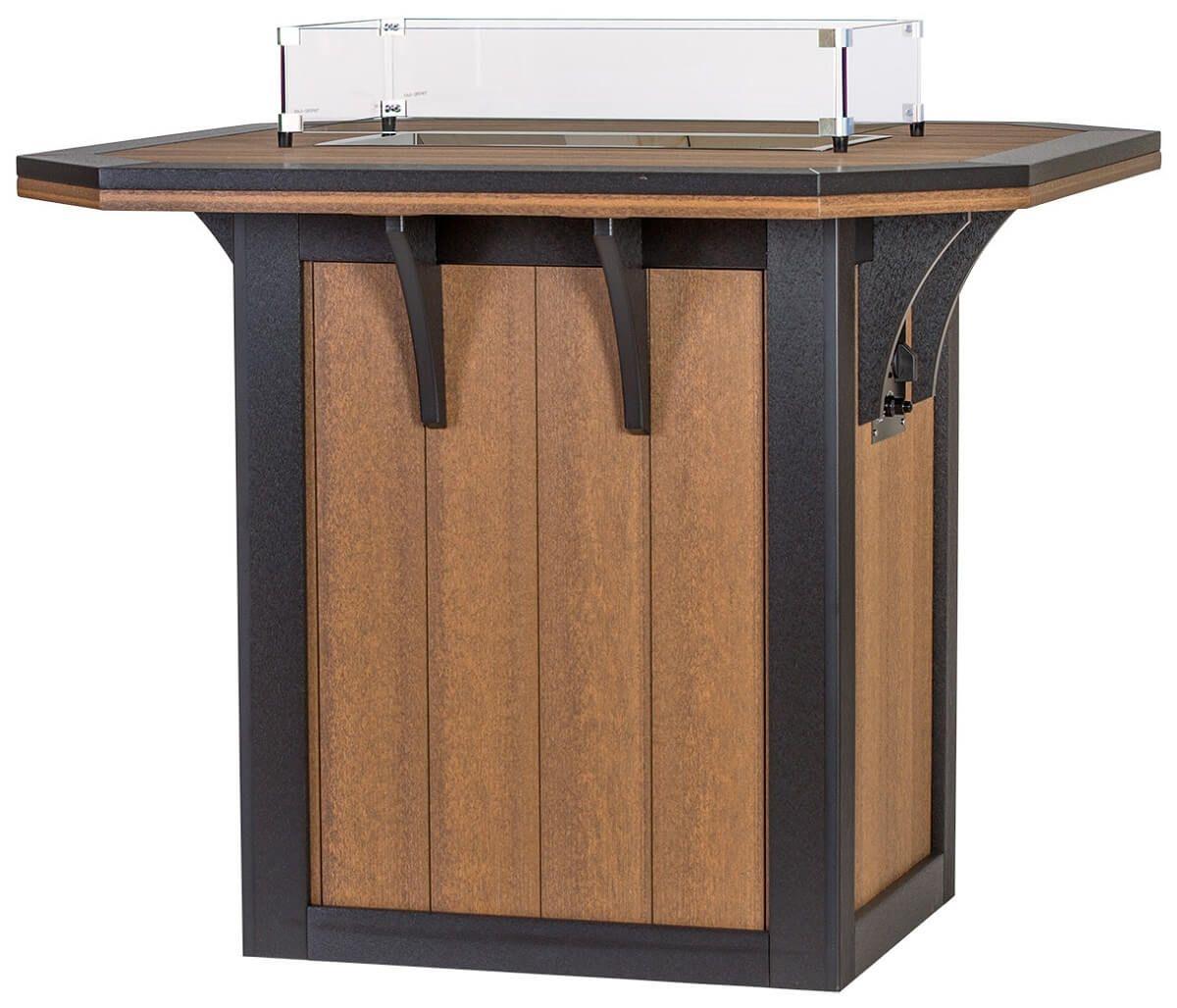 Carrabelle Fire Bar Table