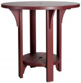 Carrabelle Outdoor Round Pub Table