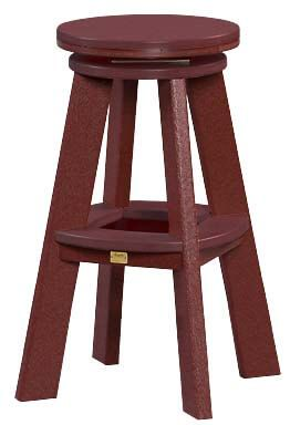 Carrabelle Outdoor Swivel Barstool