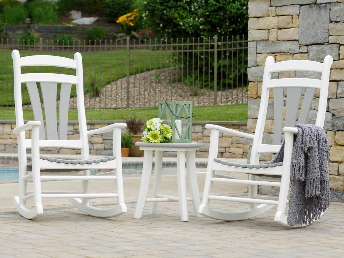 Porch Rockers and Side Table
