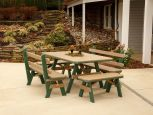 Poly Outdoor Dining Furniture Set