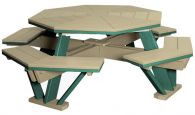 Delray Octagon Picnic Table