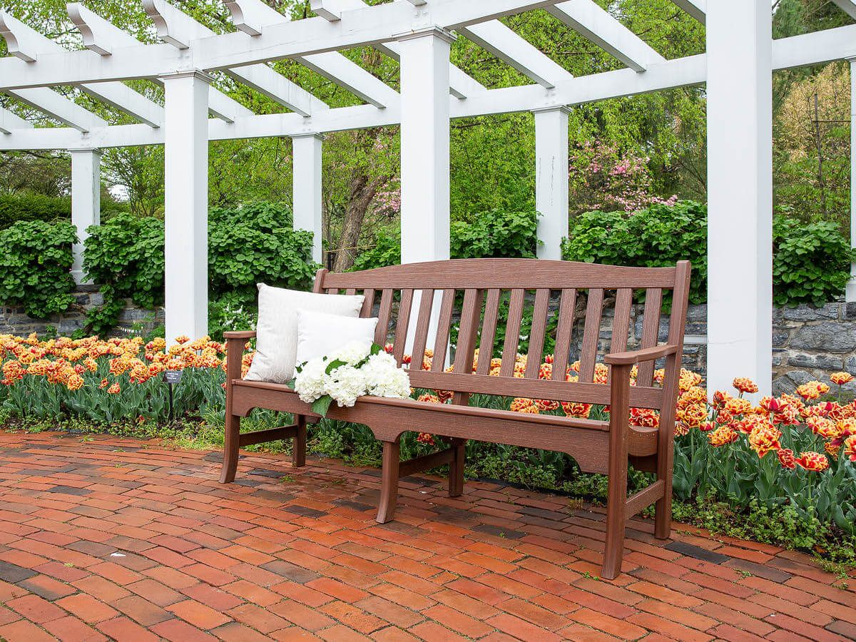 6-Foot Outdoor Poly Bench