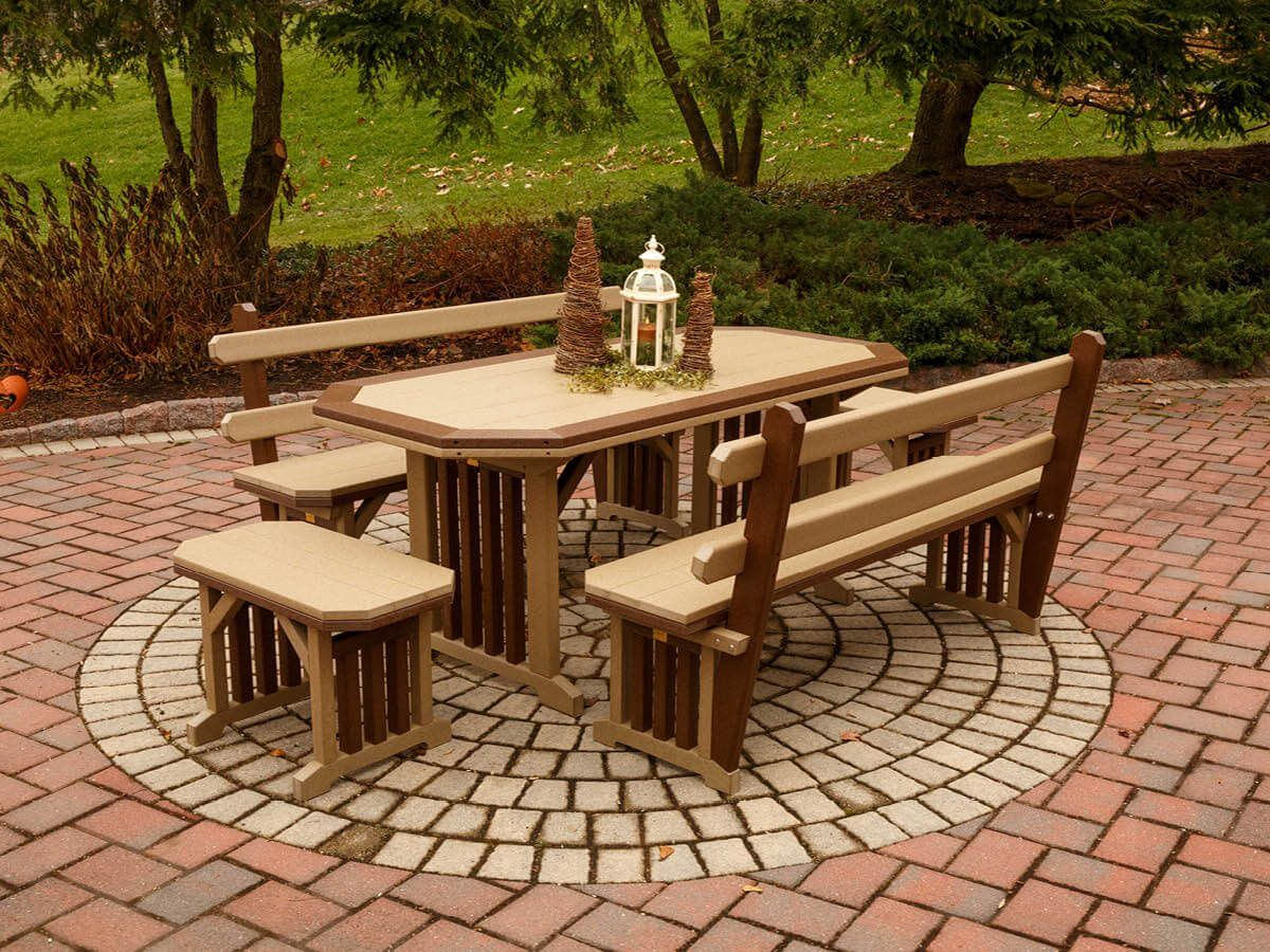 Outdoor Mission Dining Furniture